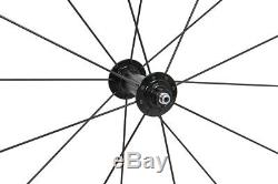 30mm Roues Vélo Jante Carbone Mat Parle Moyeux 700c Route Bordent Clincher Tubeless