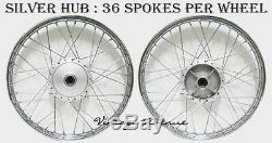 326-newsuzuki K50 A50 Ac50 As50 Jante Avant-arrière + Moyeu + Chrome Spokef3s + R2s
