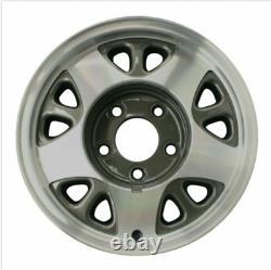 4 Chevy Gmc 15 Aluminium Lisse 5 Lug Wheel Center Caps Hub Hubs Rim Nut Covers