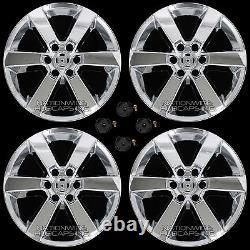 4 Chrome 15 2016 17 Ford F150 20 Wheel Skins Full Alloy Rim Covers New Hub Caps