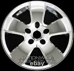4 Chrome 20 Skins De Roue Ajustement Dodge Ram 1500 2009-12 Casquettes Hub 5 Couvertures Spoke Rim