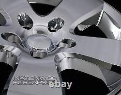 4 Chrome 20 Skins De Roue Dodge Ram 1500 2009-12 Casquettes Hub 5 Couvertures Spoke Rim