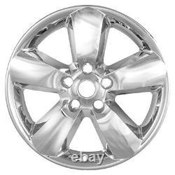 4 Chrome 20 Wheel Skins Hub Caps 5 Spoke Alloy Rim Covers For Dodge Ram 1500 Tr