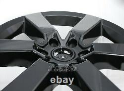 4 Coupe Ford F150 2015-2017 Skins Noir 20 Roues Full Alliage Rim Couvertures Hub Casquettes