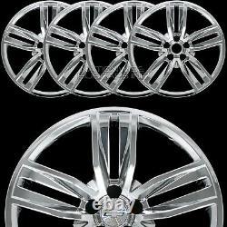 4 Fit 2016-2018 Chevrolet Camaro 20 Skins De Roue Chrome Casquettes De Moyeu Couvertures Pleines