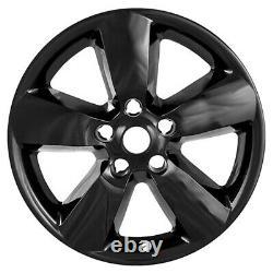 4 Peaux De Roues Black 20 Casquettes De Moyeu 5 Couvertures D'alliage D'éponge G Pour Camion Dodge Ram 1500