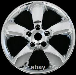 4 Pour Dodge Ram 1500 2013-17 Chrome 20 Skins Hub Caps 5 Couvre-jarretelles Spoke