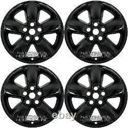 4 Pour Dodge Ram 1500 2013-2017 Black 20 Roues Skins Hub Caps 5 Couvertures Spoke Rim