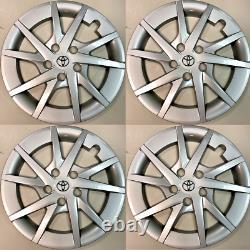 4 X Housses De Protection Toyota 2012-2018 Prius V 16 Housses De Protection Pour Pneus Rim Cap Hubs