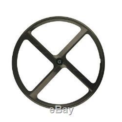 700c 4 Roues Fixes À Une Vitesse Fixe Fixe Aux Rayons Mag Wheel Rim Avant + Arrière