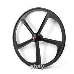 700c Fixed Gear Mag Wheels Rims Set (avant+arrière) Fixie Bike Single Speed