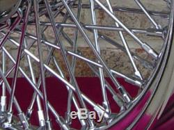 80 Ressorts Chrome 16x 3 Roues Harley Shovelhead Fl Avant & Arriere & Fx 73-84 Arriere