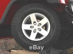 97-06 Jeep Wrangler Moab 16 X 8 Roues De Production Ensemble À 5 Rayons