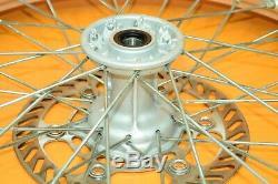 99-02 2001 Kx250 Kx 250 Avant Roue Arrière Ensemble Complet Rim Hub Spokes Tire