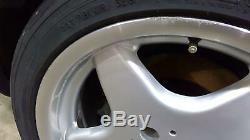 99-03 Mercedes Benz W203 Clk 17 5 Rayons Staggered Roue Set (avant / Arrière) Oem