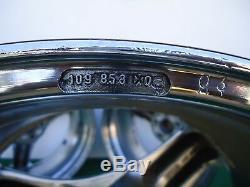 Antera Tri Spokes Roues Jantes Center Caps 18x8.5 Et14mm P / N 109858003 Rare