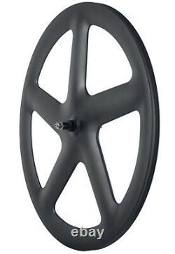 Avant Cinq Spoke Disque Arrière Wheelset Piste Vélo Fixe Gear Carbon Wheelset 700c