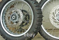 Bmw F650gs Dakar Spoke Roue Tubeless Kit Avant 21×1.60 Arrière 17×3.00 Fr21bgsd