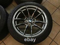 Bmw M3 & M4 Style 513m Oem 10 Double Spoke 18 Roue/pneu/tpms & Center Caps