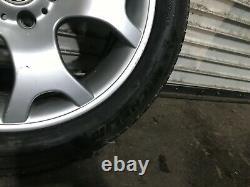 Bmw Oem E53 X5 Jante Et Pneu 255 50 19 Pouces 19 19x9 2000-2006