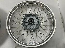 Bmw R1150gs Adventure Spoked Tubeless Wheels Paire Avant Et Arrière. Reconstruit