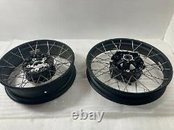 Bmw R1200gs Adventure LC Spoked Tubeless Wheels Front And Rear Paire. R1250g