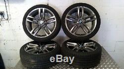 Bmw Série 2 F22 18 M Sport Double Spoke 461 Set Of Roues En Alliage 7846784