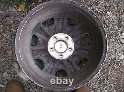 Cadillac Eldorado Deville Séville Oem 16 X 7 Chrome 7 Spoke Wheels Rims Set