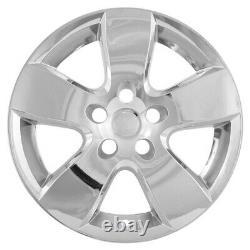 Chrome 20 Wheel Skins Hub Caps 5 Spoke Rim Covers For 2009-2012 Dodge Ram 1500