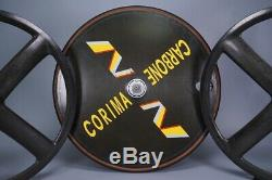 Corima Carbone Disc + Paire De Roues W @ W + À Roues Avant Et Arrière À Quatre Branches À 4 Rayons Avant Et Arrière