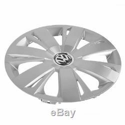 Couvercle De Moyeu De Cache-moyeu En Argent 7 Pouces Oem 16 Pouces Pour 11-15 Vw Volkswagen Jetta