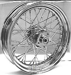 Disque Double Avant Ou Arriere 16x 3 Chromé Pour Harley Fl / Fx Et XL 1973-1983