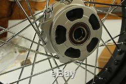 Ducati Scrambler Aluminium Spoke Avant Et Arrière Rim Partielle # 96380031a