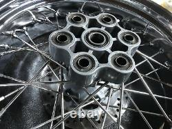 Ducati Sport Classic Gt1000 Avant/arrière Chrome Wheels 2010 Rayons Inoxydables