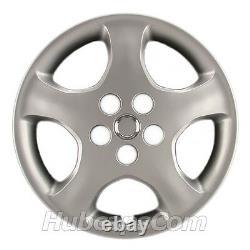 Ensemble De (4) 15 Hubcaps Argent Pour Toyota Corolla 2005-2008, 5 Spoke, Heavy Duty