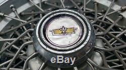Ensemble De 4 Oem 1981-1985 Chevy Caprice Classic 15 Spoke Fil Hubcaps Enjoliveurs