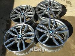 Ensemble De Jantes Bmw D'usine 19 M Edition X3 X4 Upgrade Wheels Oem Staggered