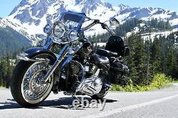 Fat Spoke Roue 16x3.5 52 Ensemble Avant Et Arrière Pour Modèles Harley Softail