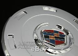 Fits 07-14 Cadillac Escalade Chrome 22 Centre De Roue Cache-moyeux Hubs Rim Covers Rc