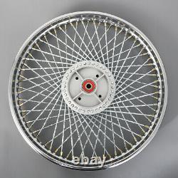 Front&rear Wheel Rim+hub+spoke Pour Honda C200 Ca200 Ct200 Ct90 Ss50 C90 Cm90