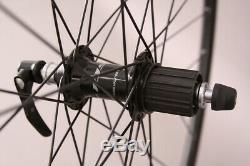 H Plus Son Tb14 Jantes Noir Route Shimano 105 Wheelset R7000 Moyeux Dt Spokes