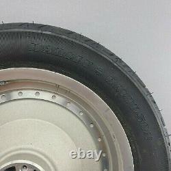 Harley-davidson 16 X 3.00 Hinterrad + Bremscheibe + Dunlop Reifen
