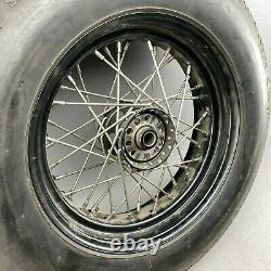 Harley-davidson Felge Ironhead 15 X 5,00 Edelstahlspeichen