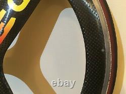Hed 3 Carbon Tri Spoke Roue Set Avant Et Arrière 650c Tubular Trispoke Bike