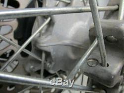 Honda Xr650r 2000-2007 Avant Et Arrière Jantes Moyeux Disques Spokes, Sprocket