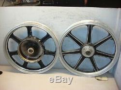 Lester Bmw Airhead R 75 R 80 R 100 R 90 S 1977 Jeu De Roues Avant Arrière Vintage