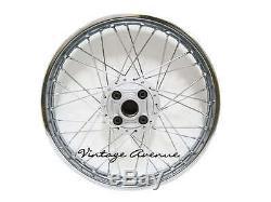 Lg253honda Sl125 K0-'73 Xl125 K0-'76 Jante De Roue Avant-moyeu + Moyeu + Rayons 11 + R10