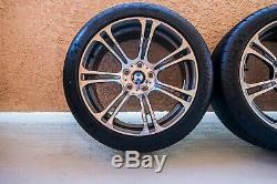 M5 Et M6 Bmw Style 344m Oem Double Véritable Spoke 19 Roues Et Pneus F10 F12