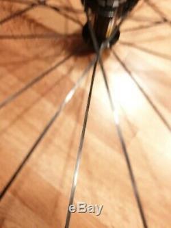 Mavic Aksium 700c Essieux Freins Avant De La Roue De Vélo De Route Arrière À Disque Non 20 Rayons