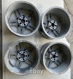Mercedes Amg Wheel Set Sl500 Sl550 9.5 8.5x18 18 Avant Arrière Jante 2304012802